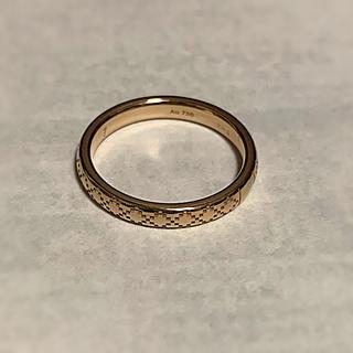 グッチ(Gucci)のグッチ 未使用 リング 指輪 ゴールド 750 6号(リング(指輪))