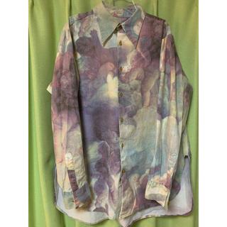 ヴィヴィアンウエストウッド(Vivienne Westwood)の90年代初期 プッティ柄 コットン シャツ(シャツ)