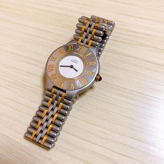 Cartier - ✩Cartier✩ must21 正規品 メンズ 腕時計