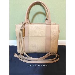 Cole Haan - 【期間限定!大幅お値引き!】COLE HAAN ハンドバッグ  ベージュ レザー
