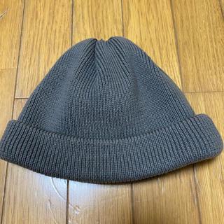 コモリ(COMOLI)のクレプスキュール ニット帽 グレー crepuscule(ニット帽/ビーニー)