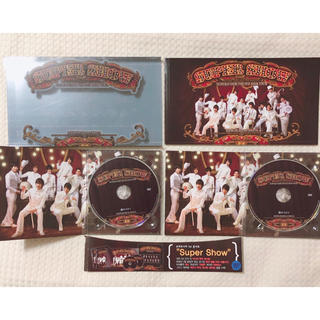 スーパージュニア(SUPER JUNIOR)のSUPER JUNIOR 1stコンサート Super Show 韓国盤 DVD(ミュージック)