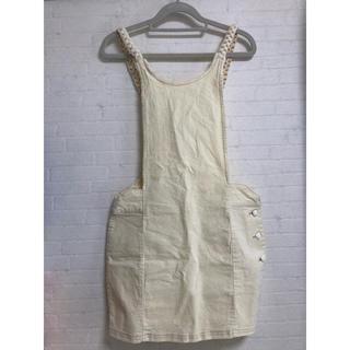 リリーブラウン(Lily Brown)のlily brown リリーブラウン ジャガードジャンパースカート(サロペット/オーバーオール)
