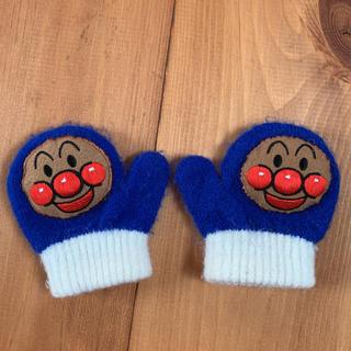 バンダイ(BANDAI)のアンパンマン 手袋 ワッペンニットミトン(手袋)