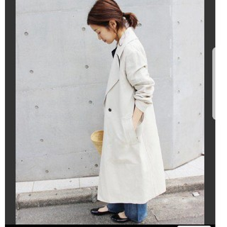 IENA - イエナ 美品 春 オーバーサイズ チェスターコート キナリ