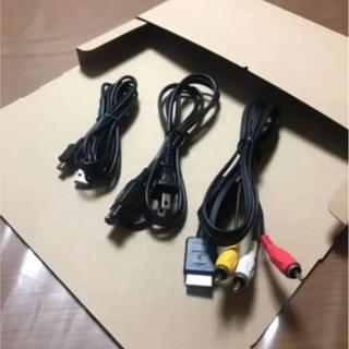 PlayStation3 - SONY純正 AVケーブル 電源ケーブル U S B mini-B PS3 薄型