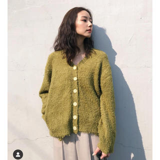 moussy - GRASS KNIT CARDIGAN