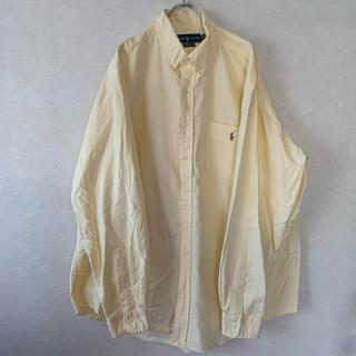 ポロラルフローレン(POLO RALPH LAUREN)の【old】Ralph Lauren ワンポイントロゴ ボタンダウンシャツ(シャツ)