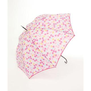 AfternoonTea - *新品*アフタヌーンティー カラフルドット柄雨傘 ピンク