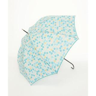 AfternoonTea - *新品*アフタヌーンティー カラフルドット柄雨傘 ブルー