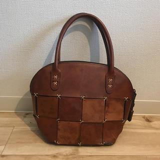 イルビゾンテ(IL BISONTE)のRE CREATION 本革 ハンドバッグ  vintage 日本製(ハンドバッグ)