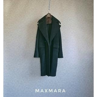マックスマーラ(Max Mara)の超高級 マックスマーラ 豪華イタリア製コート めちゃ可愛オーバーサイズスタイル(チェスターコート)