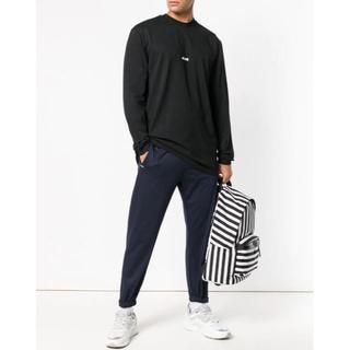 エムエスジイエム(MSGM)の新品 MSGM 2019SS ロンT ブラック(Tシャツ/カットソー(七分/長袖))