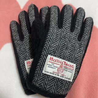 ハリスツイード(Harris Tweed)のハリスツイード 手袋(スマホ対応)(手袋)