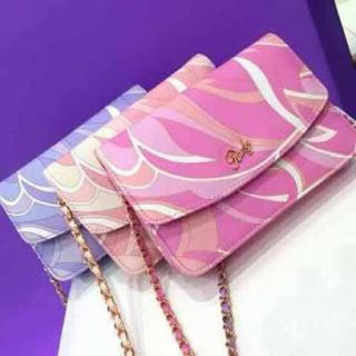 Rady - Rady ミルフィーユバッグ マーブルチェーンウォレット   鞄 財布
