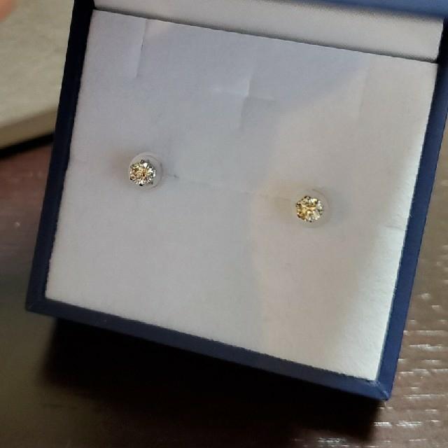 JEWELRY TSUTSUMI(ジュエリーツツミ)のpt900 一粒ダイヤモンド ピアス レディースのアクセサリー(ピアス)の商品写真