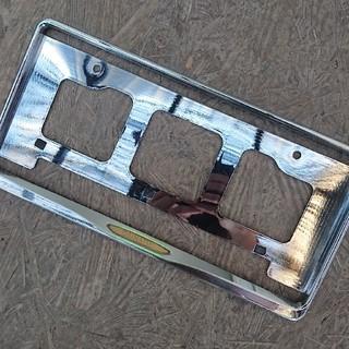 ダイハツ(ダイハツ)のDAIHATSUナンバーフレーム  DAIHATSUナンバープレート(車外アクセサリ)