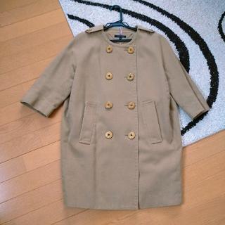 TOMMY HILFIGER - コート トミーフィルフィガー ベージュ 春 スプリングコート かわいい