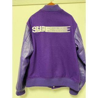 Supreme - supreme motion logo varsity jacket Mサイズ