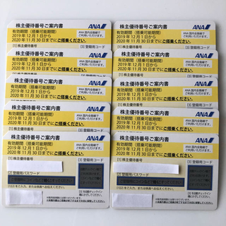 ANA(全日本空輸) - ANA全日空株主優待券 10枚セット