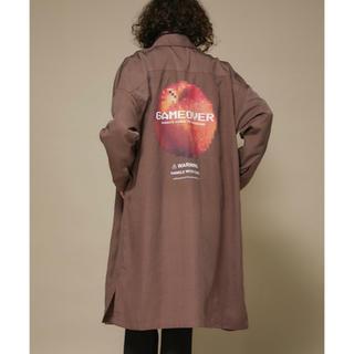 シャリーフ(SHAREEF)の値下げ交渉可 SHAREEF STUDIOUS限定 ロングシャツコート(シャツ)