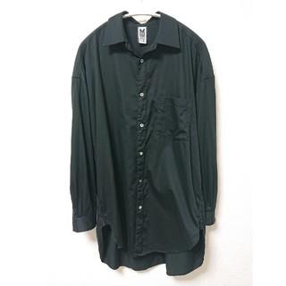 MIHARAYASUHIRO - 売切最安価格!状態良好!! Myne 黒ロングシャツ