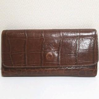 イルビゾンテ(IL BISONTE)の【IL BISONTE/イルビゾンテ】クロコ型押し長財布(長財布)
