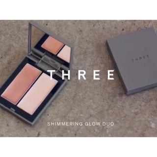 THREE - THREE スリー シマリンググローデュオ 01 ★ハイライト チーク コントア