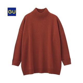 GU - ハイネックボリュームセーター