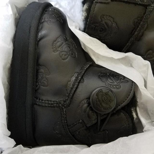 HYSTERIC MINI(ヒステリックミニ)の最終値下げ💴⤵️ヒスミニ 新品♡ブーツ デビルキン14㎝ ブラック キッズ/ベビー/マタニティのベビー靴/シューズ(~14cm)(ブーツ)の商品写真
