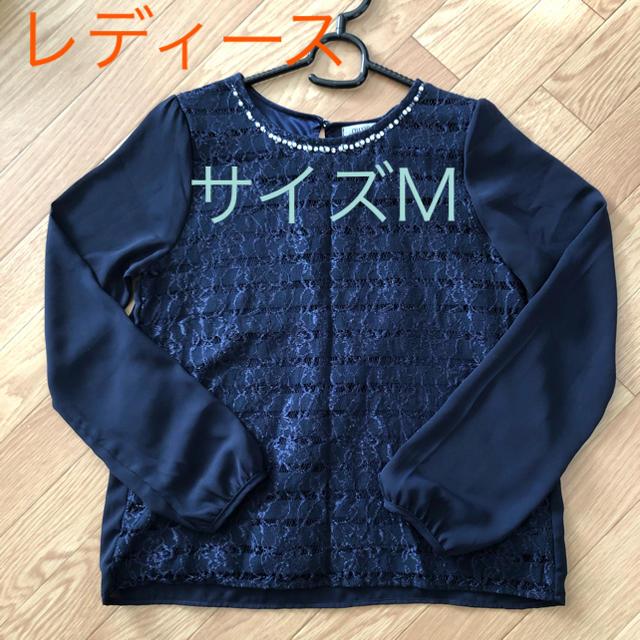 しまむら(シマムラ)のレディース☆ブラウス 中古☆サイズM レディースのトップス(シャツ/ブラウス(長袖/七分))の商品写真