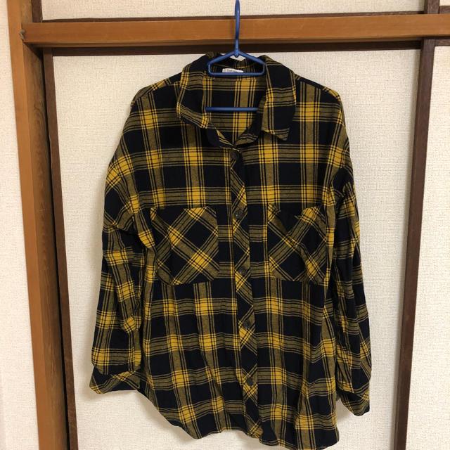 しまむら(シマムラ)のオーバーサイズシャツ  Lサイズ しまむら レディースのトップス(シャツ/ブラウス(長袖/七分))の商品写真