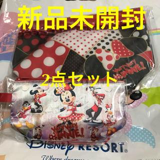 ディズニー(Disney)の新品未開封★ディズニー ベリーベリーミニー スーベニア ランチケース & ポーチ(キャラクターグッズ)
