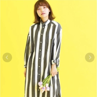 Dot&Stripes CHILDWOMAN - ビック シャツ ドットアンドストライプス チャイルドウーマン