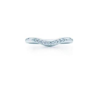 ティファニー(Tiffany & Co.)の値下げ!ティファニー カーブドバンドリング(リング(指輪))