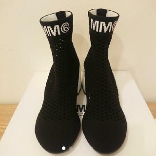 エムエムシックス(MM6)のMM6 マルジェラ ソックスブーツ (ブーツ)