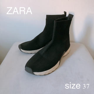 ZARA - ZARA ザラ ソックススニーカー ソックスブーツ
