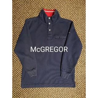 マックレガー(McGREGOR)のMcGREGOR スタンドカラースウェットカットソー マックレガー ブルゾン(スウェット)