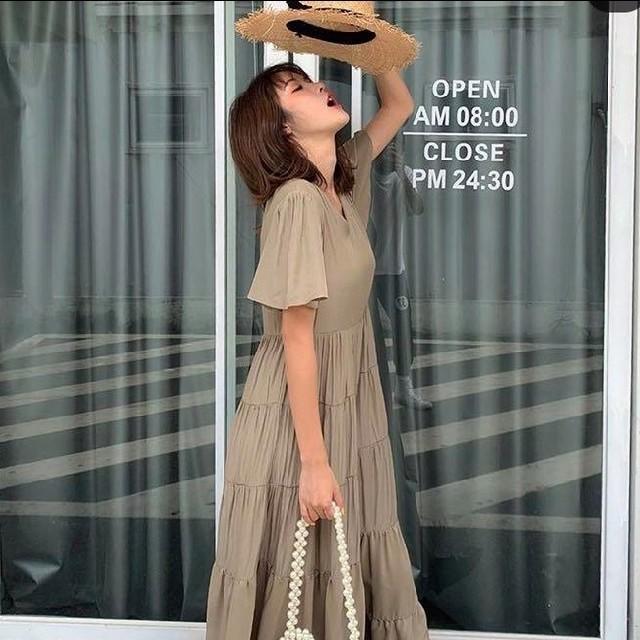 ZARA(ザラ)のbirthdaybash RX ショート スリーブ ドレス レディースのワンピース(ロングワンピース/マキシワンピース)の商品写真