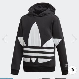 adidas - 新品タグ付き adidas ビックトレフォイル パーカー キッズ 160