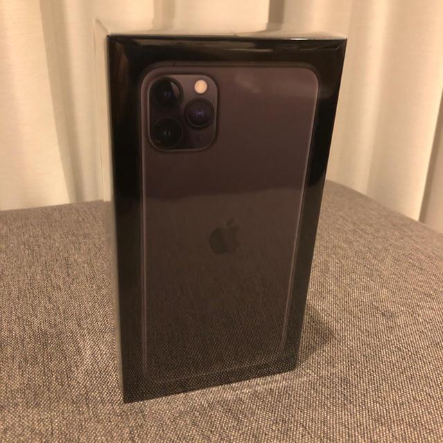 iPhone(アイフォーン)のiPhone11ProMax512GB スペースグレイ 未開封 スマホ/家電/カメラのスマートフォン/携帯電話(スマートフォン本体)の商品写真