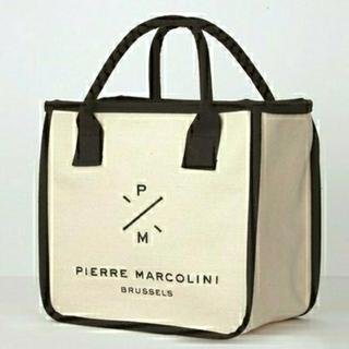 タカラジマシャ(宝島社)の【PIERRE MARCOLINI】ピエールマルコリーニ スクエアトートバッグ(トートバッグ)