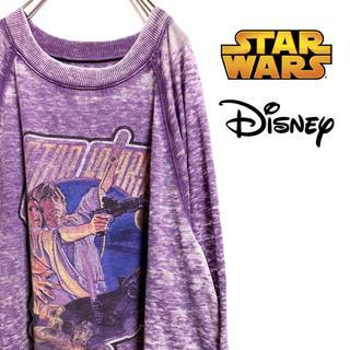 ディズニー(Disney)の〔激レア〕STAR WARS スターウォーズ スウェット トレーナー ディズニー(スウェット)