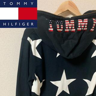 TOMMY HILFIGER - TOMMY HILFIGER スター ジップ パーカー