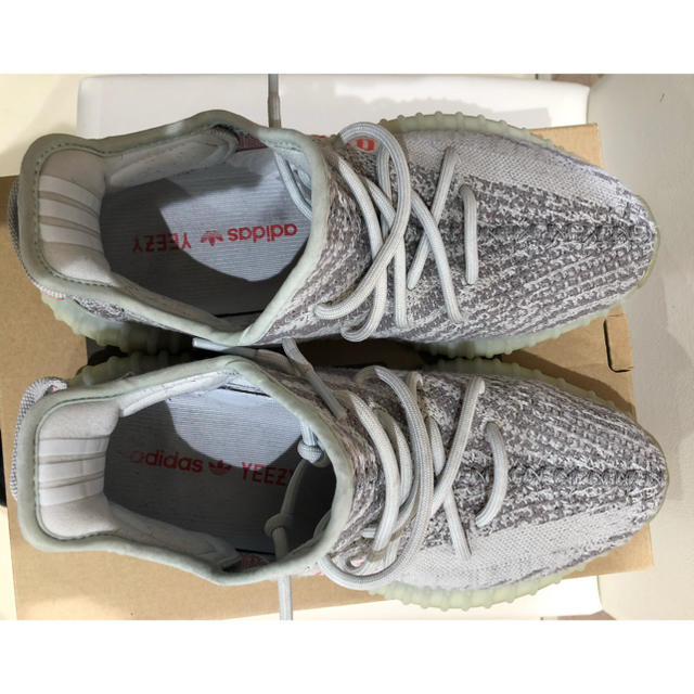 adidas(アディダス)の早い者勝ち!最終値下げyeezy boost v2 blue tint 26cm メンズの靴/シューズ(スニーカー)の商品写真