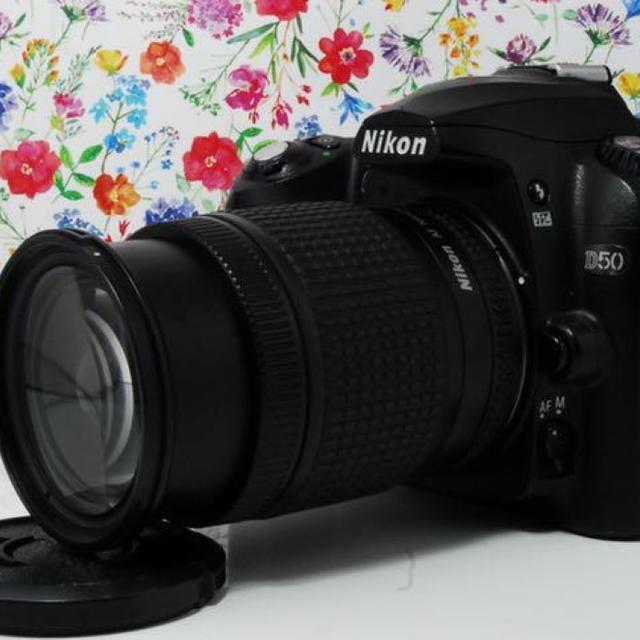 Nikon(ニコン)の❤初心者必見❤️スマホに送れる Nikon D50 レンズキット スマホ/家電/カメラのカメラ(デジタル一眼)の商品写真