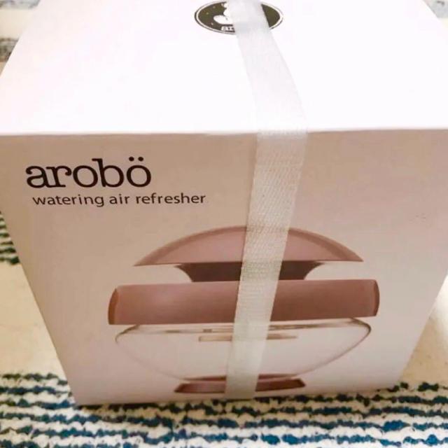【新品】arobo 空気洗浄機M パールピンク CLV1000M スマホ/家電/カメラの生活家電(空気清浄器)の商品写真