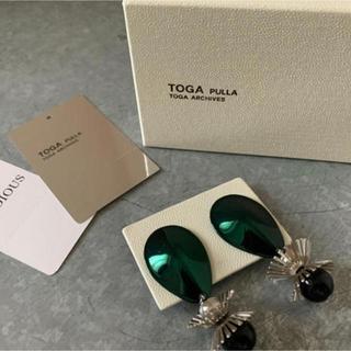 トーガ(TOGA)のtoga pullaメタルモチーフイヤリング トーガプルラ(イヤリング)