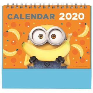 ミニオン ポップアップカレンダー 2020 卓上(カレンダー)