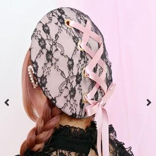 マーズ(MA*RS)のMARS レースアップベレー帽(ハンチング/ベレー帽)